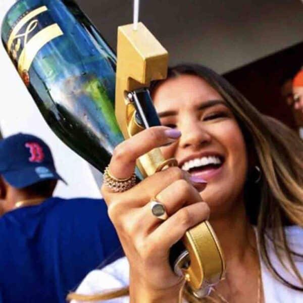 Pistolet champagne